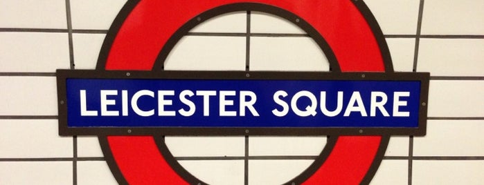 Leicester Square London Underground Station is one of I've got time for that!.
