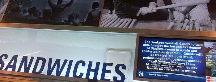 Boar's Head Sandwich Stand is one of Yankee Stadium Winners.