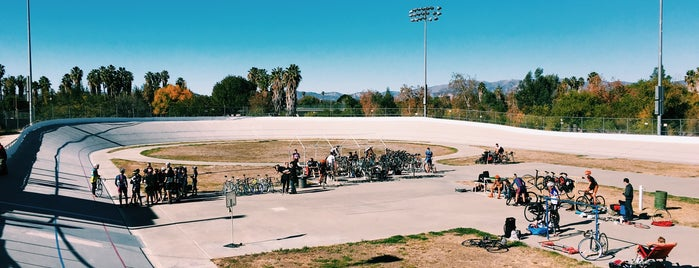 Encino Velodrome is one of สถานที่ที่ Christopher ถูกใจ.