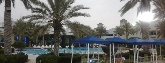 The Palms Resort is one of Kuwait.