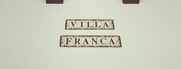 Villa Franca is one of mis lugares.