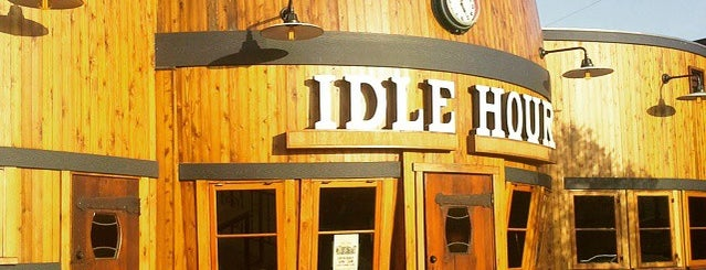 Idle Hour is one of rooftop/outdoor drinking..