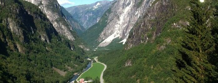 Voss stasjon is one of Norway :).