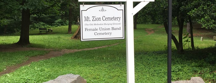 Mt Zion Cemetery - Female Union Band Cemetery is one of 111 Places in Washington You Must Not Miss.