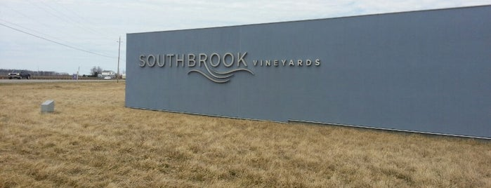 Southbrook Vineyards is one of Lugares favoritos de Ethan.