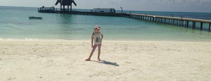 Herethera Island Resort - Spa is one of Lieux qui ont plu à Nurislam.