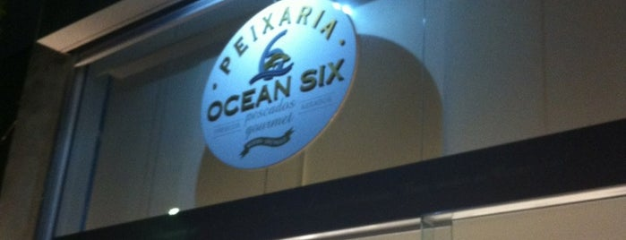 Ocean Six Peixaria is one of Locais salvos de Rafael Freitas.