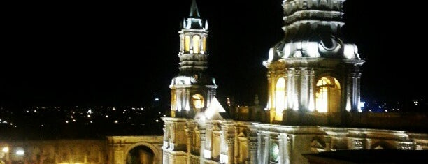 Arequipa is one of Peru.