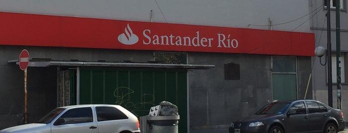 Santander Río is one of Tempat yang Disukai Maru.