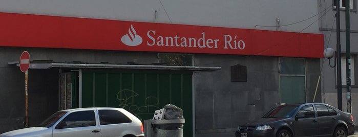Santander Río is one of Maru'nun Beğendiği Mekanlar.