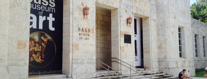 The Bass is one of Where to Get Cultured - Miami.