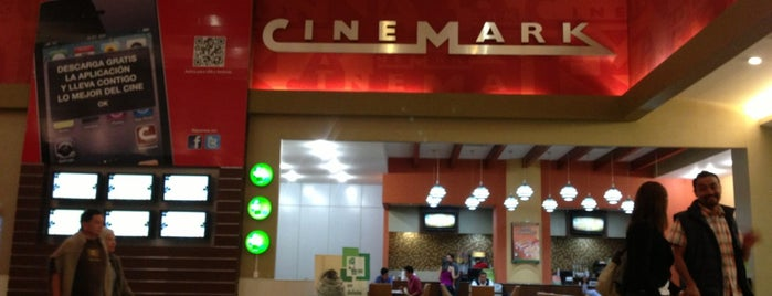 Cinemark is one of mis visitas.
