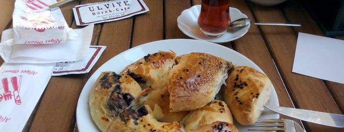 Ulviye Börek Cafe is one of Tempat yang Disukai Sergul.