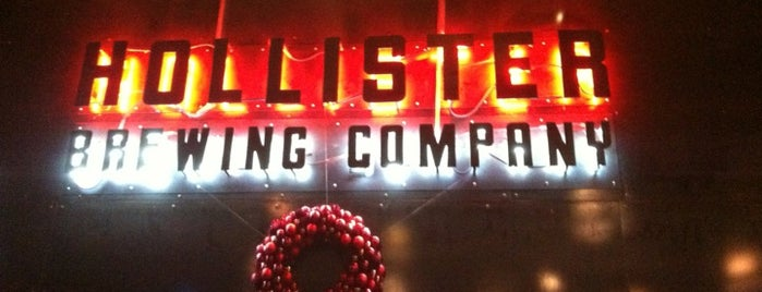 Hollister Brewing Company is one of G-Town.
