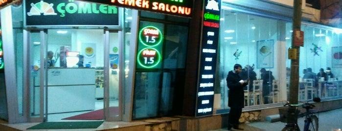 Çömlek Yemek Salonu is one of Tempat yang Disukai Oğuz.