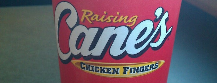 Raising Cane's Chicken Fingers is one of USA 6.