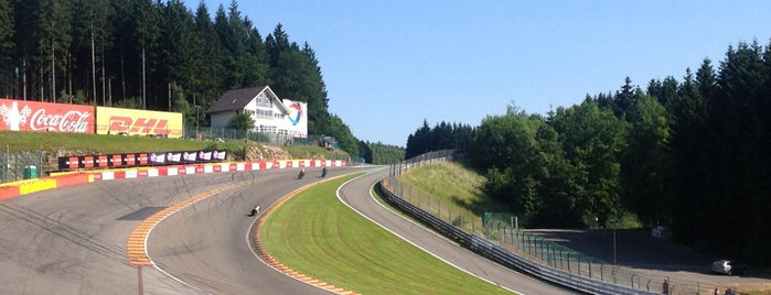 Circuit de Spa-Francorchamps is one of 2014 FIA Formula-1 World Championship Circuits.