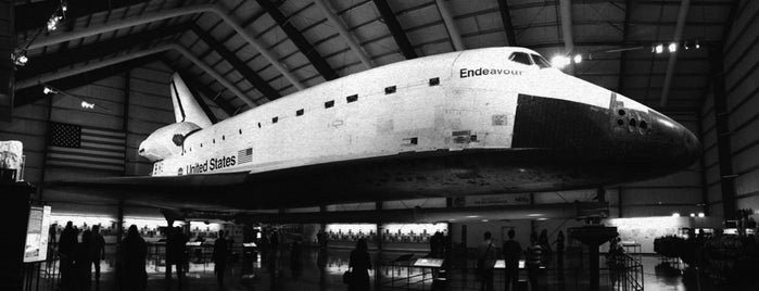 Space Shuttle Endeavour is one of Aerospace Museums.