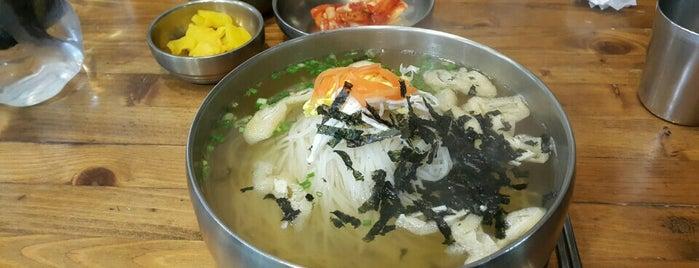 단지국수 is one of noodle.