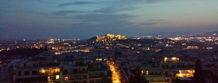 St George Lycabettus Lifestyle Hotel is one of Athen.