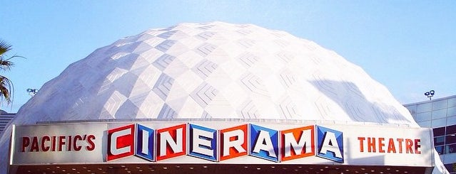 Cinerama Dome at Arclight Hollywood Cinema is one of Favorite California Spots.