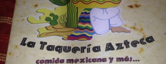 Taqueria Azteca is one of Lugares guardados de Nicole.