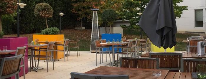 Restaurant Oleo Pazzo - Courtyard Paris Saint Denis is one of RestO (2).