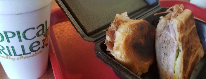 Tropical Chicken Grill is one of สถานที่ที่ Matt ถูกใจ.