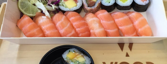 Wood Sushi is one of Comida Asiatica.
