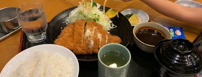芳かつ亭 is one of Locais curtidos por 商品レビュー専門.