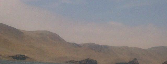 Isla san lorenzo is one of Perú'15.