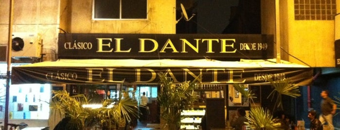 El Dante is one of Drink.