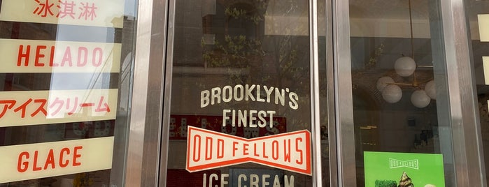 Oddfellows Ice Cream Co. is one of Dessert and Bakeries.
