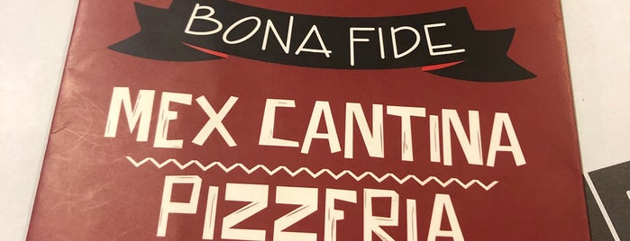 Mex Cantina Bona Fide is one of Visitados.