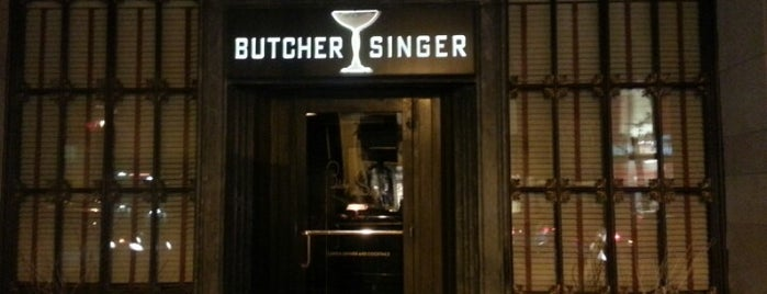 Butcher and Singer is one of 50 Best Restaurants in Philadelphia for 2013.