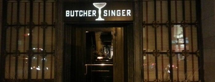 Butcher and Singer is one of 50 Best Restaurants in Philadelphia for 2013.