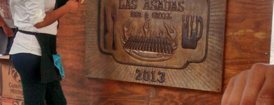 Las Asadas Bar & Grill is one of Locais curtidos por Isa Miau.