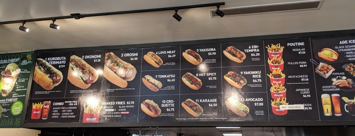 Japadog is one of Vancouver BC.
