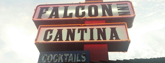 Falcon Inn is one of Burgers & more - So.Cal. edition.