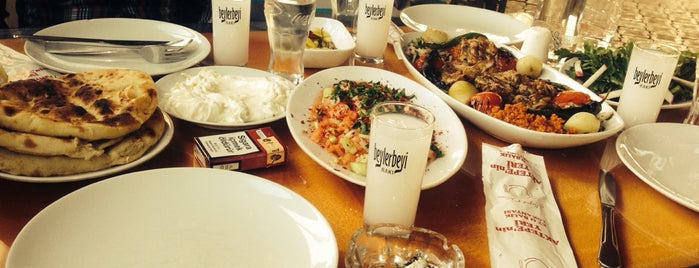 Aktepe Restaurant is one of Tempat yang Disukai Yılmaz.