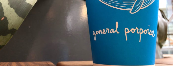 General Porpoise Coffee & Donuts is one of Treats.