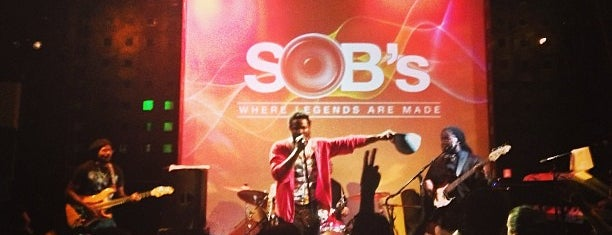 S.O.B.'s is one of NYC.