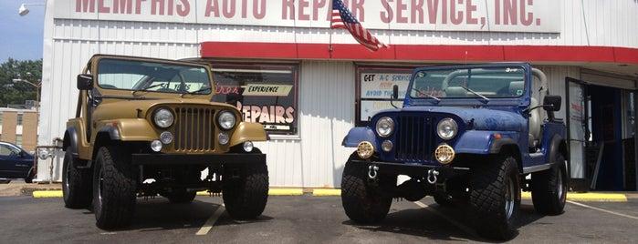 Memphis Auto Repair Service is one of Lieux qui ont plu à Gordon.