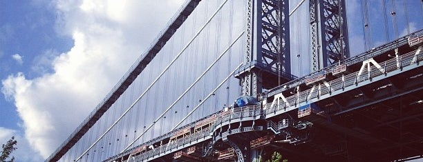 Manhattan Bridge is one of New York.