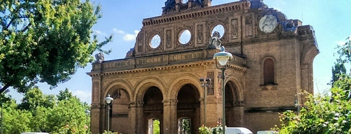 S Anhalter Bahnhof is one of Berlin spots to visit.
