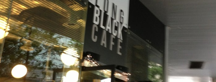 Long Black Cafe is one of Singapore Coffee Shops.