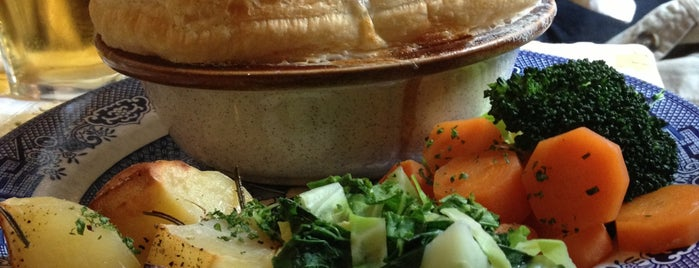 Newman Arms is one of Pies.