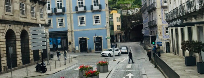 Pilares da Ponte Pênsil is one of Porto.