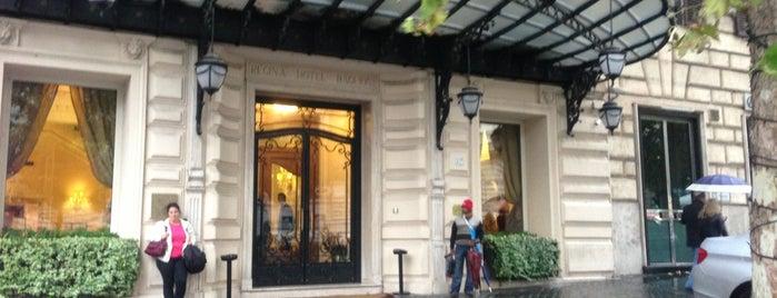 Baglioni Hotel Regina is one of Rome.