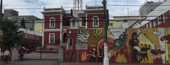 Corpo De Bombeiros is one of Discover São Paulo.